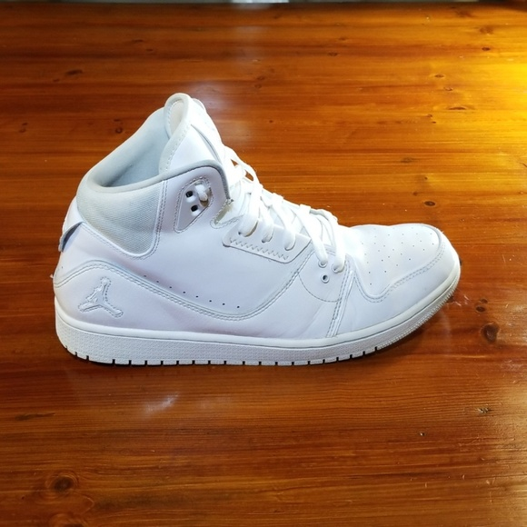 reputable site 2760a bb16e Jordan Other - Nike Air Jordan 1 Flight 3. All white. Mens 12.